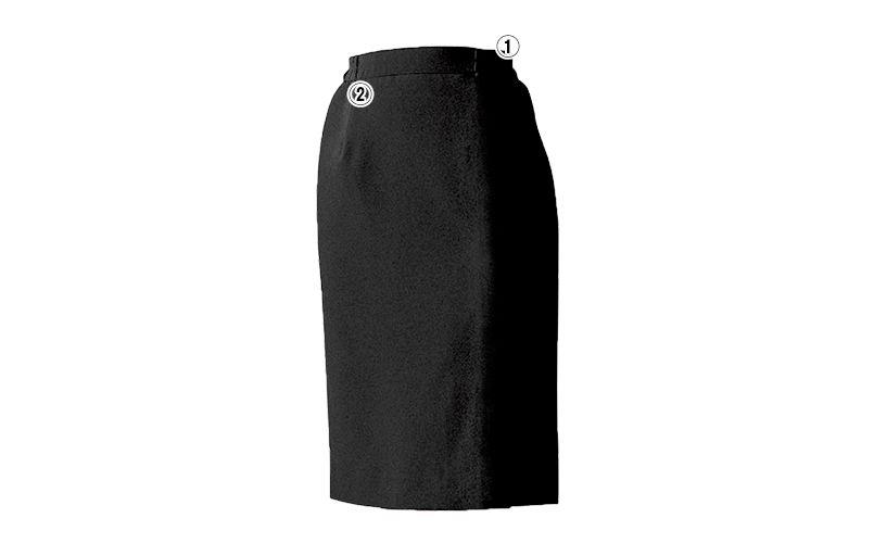 12204 BONUNI(ボストン商会) ストレッチスカート(女性用) 商品詳細・こだわりPOINT