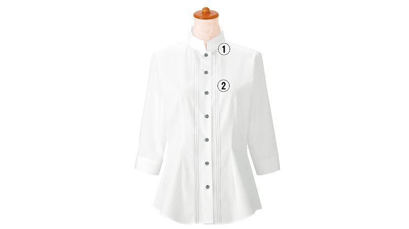 24224 BONUNI(ボストン商会) シャツ/七分袖(女性用) 商品詳細・こだわりPOINT