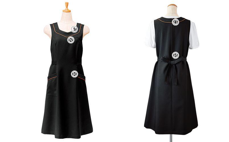 26203 BONUNI(ボストン商会) ジャンパースカート(女性用) 商品詳細・こだわりPOINT