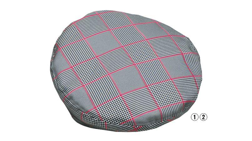 28324 BONUNI(ボストン商会) ベレー帽(男女兼用) グレンチェック 商品詳細・こだわりPOINT
