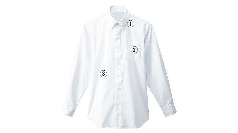 34107 BONUNI(ボストン商会) シャツ/長袖(男性用) 商品詳細・こだわりPOINT