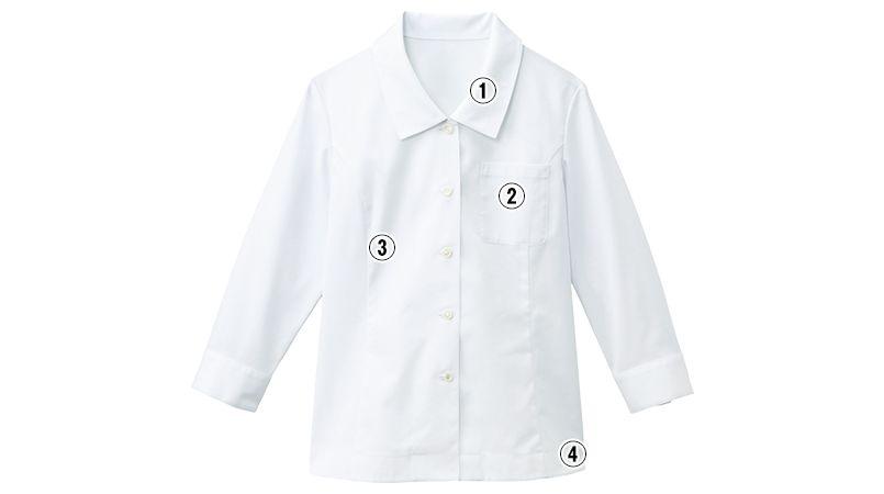 34213 BONUNI(ボストン商会) ブラウス/七分袖(女性用) 商品詳細・こだわりPOINT