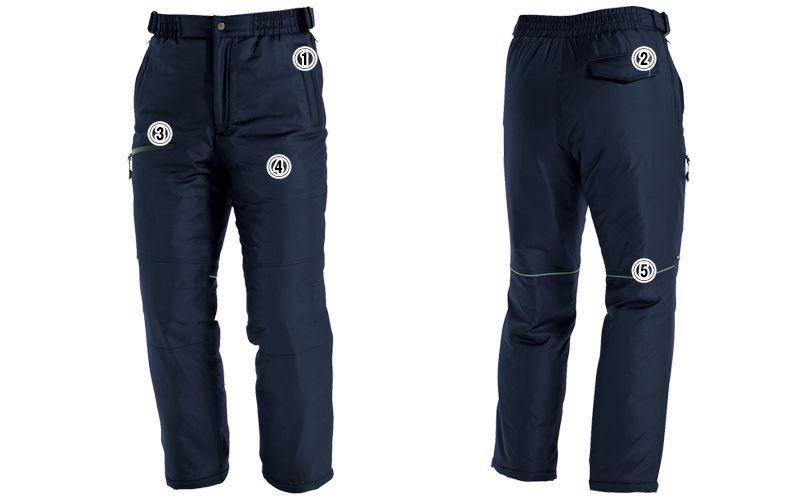 バートル 7212 [秋冬用]サーモトロン防寒パンツ(男女兼用) 商品詳細・こだわりPOINT