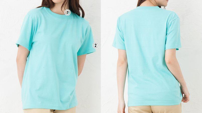 定番Tシャツ(5.6オンス)(男女兼用) 商品詳細・こだわりPOINT