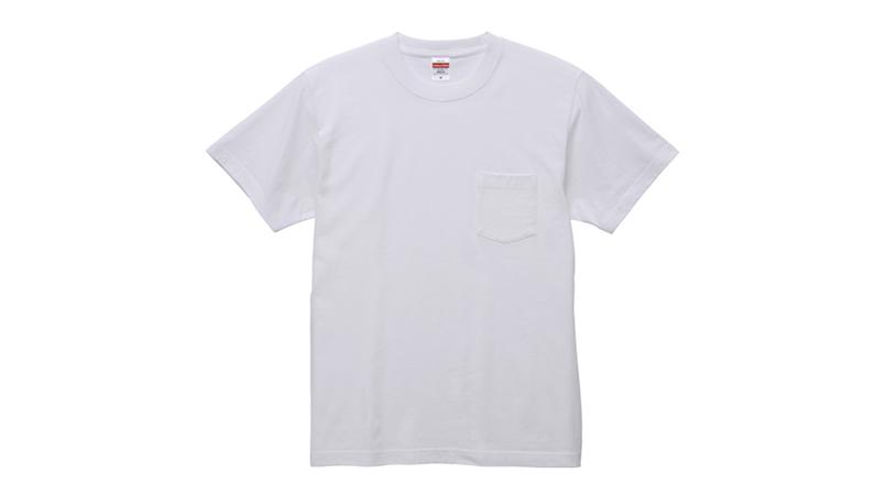 5.6オンス ハイクオリティーTシャツ(ポケット付)(男女兼用) 商品詳細・こだわりPOINT