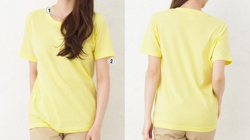レギュラーフィットTシャツ(5.0オンス)(男女兼用) 商品詳細・こだわりPOINT