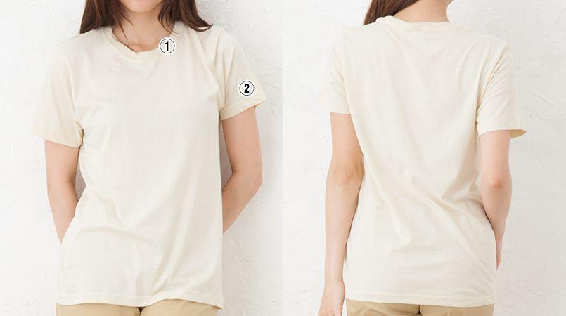 薄手Tシャツ(4.0オンス)(男女兼用) 商品詳細・こだわりPOINT