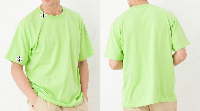 ハイグレードTシャツ(6.2オンス)(男女兼用) 商品詳細・こだわりPOINT