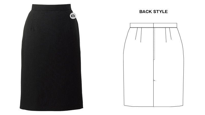 AS-7410 チトセ(アルベ) [通年]裏地付スカート 商品詳細・こだわりPOINT