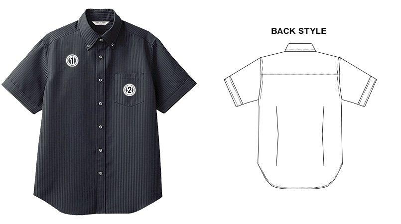 BC-6919 チトセ(アルベ) ブランチ ボタンダウンシャツ/半袖(男性用) 商品詳細・こだわりPOINT