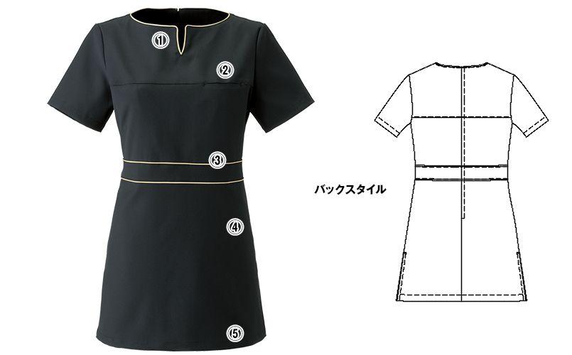 CL-0185 キャララ(Calala) チュニック(女性用) 商品詳細・こだわりPOINT