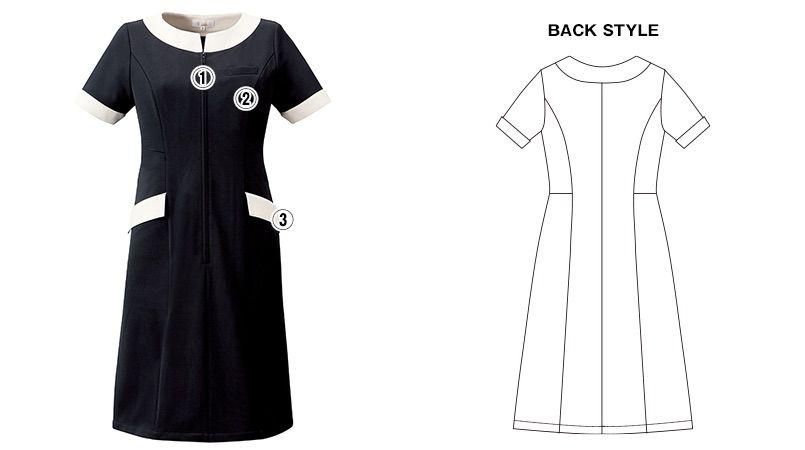 CL-0240 キャララ(Calala) ワンピース(女性用) 襟袖ポケット 商品詳細・こだわりPOINT