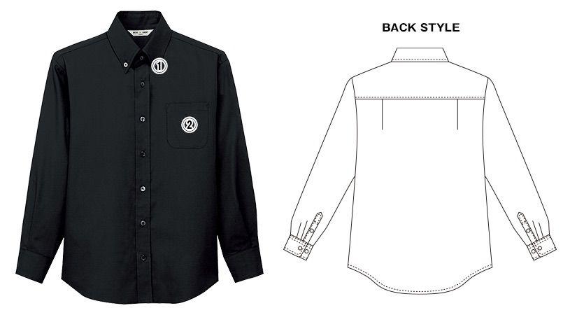 EP-7921 チトセ(アルベ) ボタンダウンシャツ/長袖(男女兼用) 商品詳細・こだわりPOINT