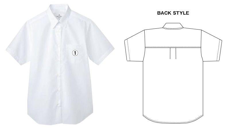 EP-827 チトセ(アルベ) カッターシャツ/半袖(女性用) 商品詳細・こだわりPOINT