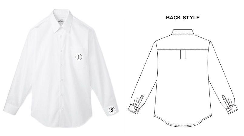 EP-928 チトセ(アルベ) カッターシャツ/長袖(男性用) 商品詳細・こだわりPOINT