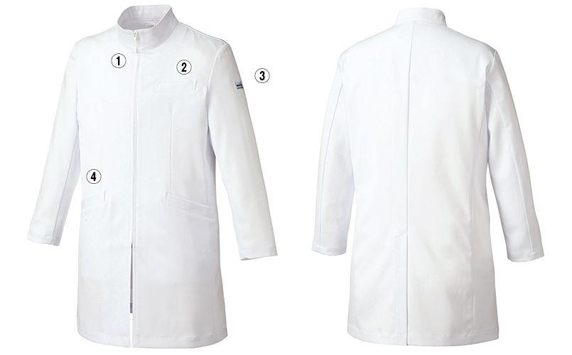 MK-0013 ミッシェルクラン(MICHEL KLEIN) ドクターコート(男性用) 商品詳細・こだわりPOINT