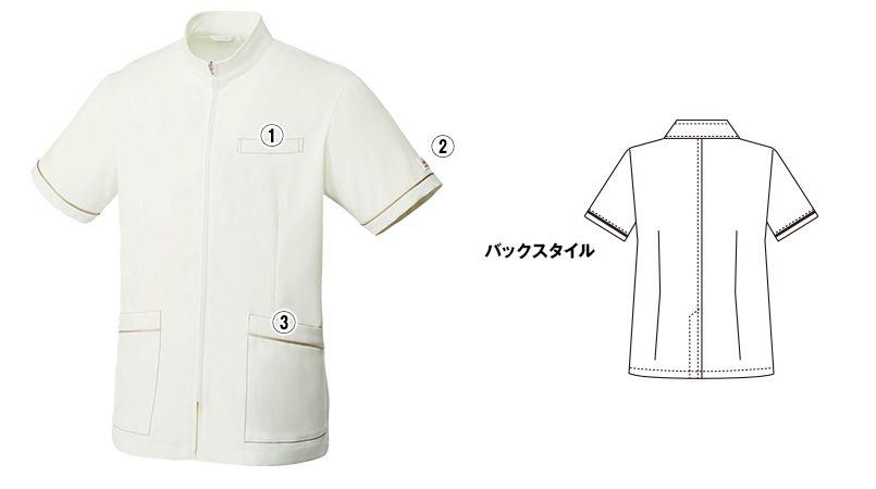 MK-0024 ミッシェルクラン(MICHEL KLEIN) ジャケット(男性用) 商品詳細・こだわりPOINT