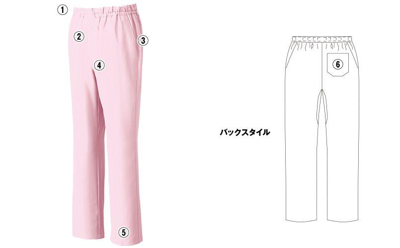MZ-0019 ミズノ(mizuno) スクラブパンツ(男女兼用)股下マチ 商品詳細・こだわりPOINT