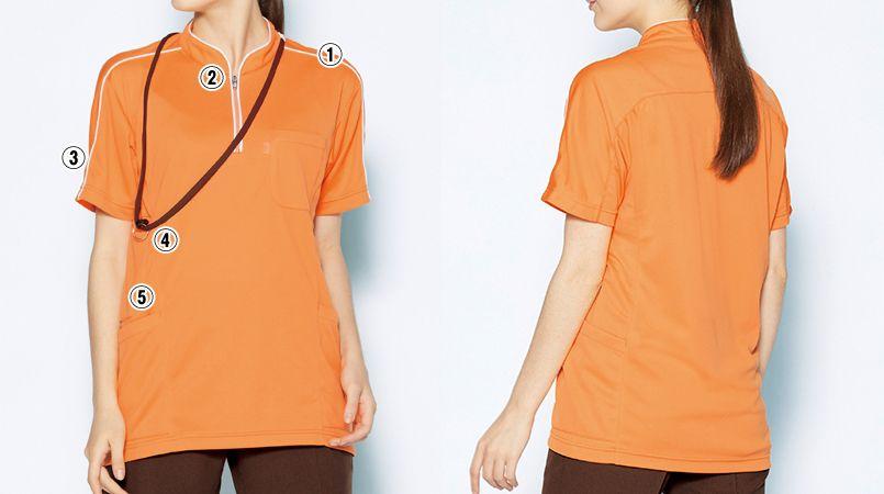 MZ-0170 ミズノ(mizuno) ニットシャツ(男女兼用) 商品詳細・こだわりPOINT