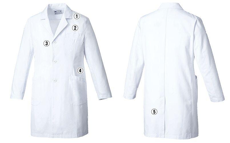 MZ-0176 ミズノ(mizuno) ドクターコート(男性用) 商品詳細・こだわりPOINT
