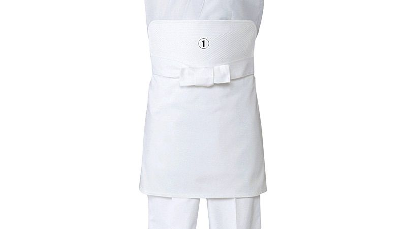 T-6103 チトセ(アルベ) 厨房刺子前掛けエプロン(男女兼用) 商品詳細・こだわりPOINT