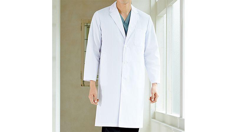 1530PO FOLK(フォーク) メンズ診察衣シングル(男性用) 商品詳細・こだわりPOINT
