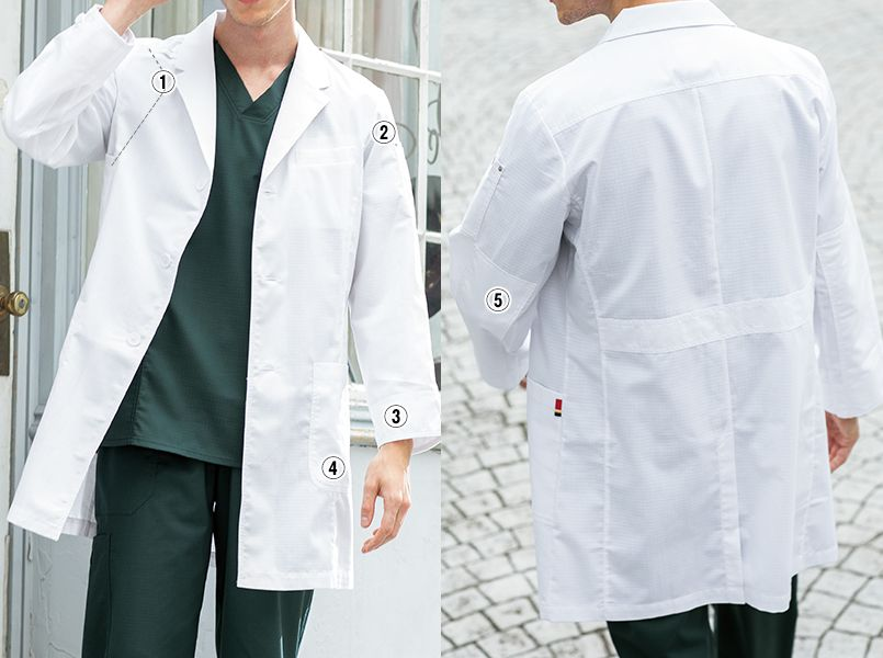 1537PR FOLK(フォーク)×Dickies メンズシングルコート(男性用) 商品詳細・こだわりPOINT
