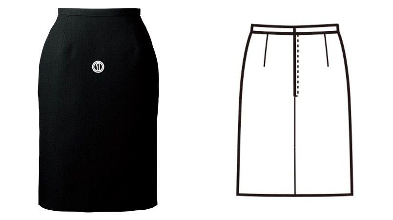 FS45780 nuovo(ヌーヴォ) [通年]スカート 無地 商品詳細・こだわりPOINT