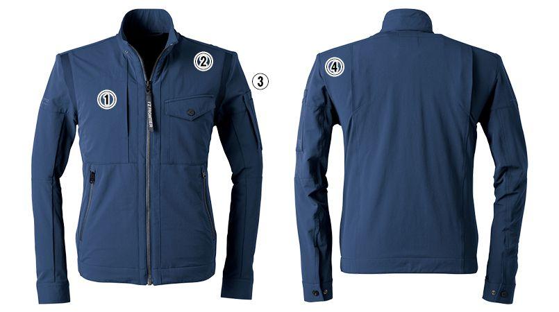 3570 アイズフロンティア ナイロン2WAYストレッチワークジャケット 商品詳細・こだわりPOINT