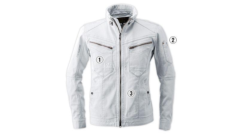 7160 アイズフロンティア ダブルアクティブワークジャケット 商品詳細・こだわりPOINT