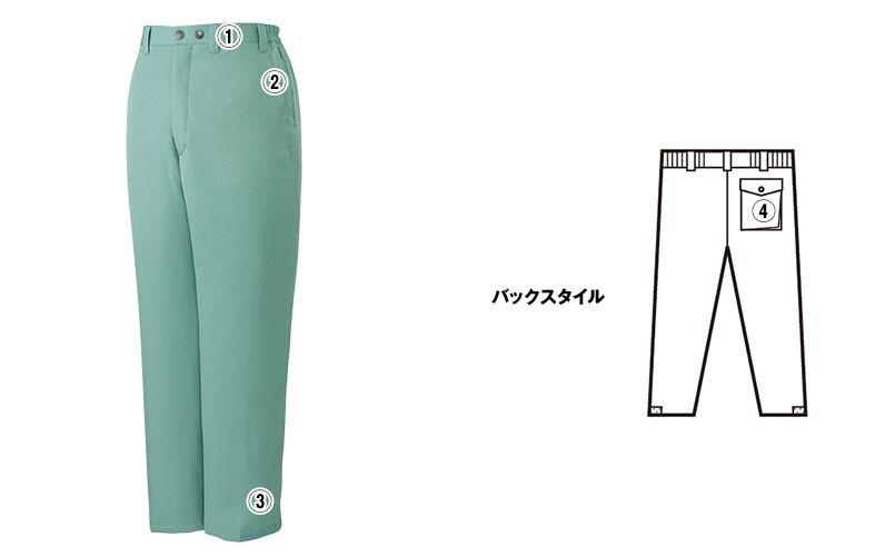 自重堂 48271 エコ防寒パンツ 商品詳細・こだわりPOINT