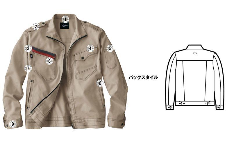 自重堂 51700 JAWIN 長袖ジャンパー(新庄モデル) 商品詳細・こだわりPOINT