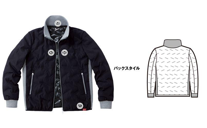 自重堂Jawin 58600 [秋冬用]シームレス防寒ジャンパー 商品詳細・こだわりPOINT