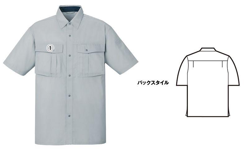 自重堂 85414 [春夏用]エコ 3バリュー 半袖シャツ(JIS T8118適合) 商品詳細・こだわりPOINT