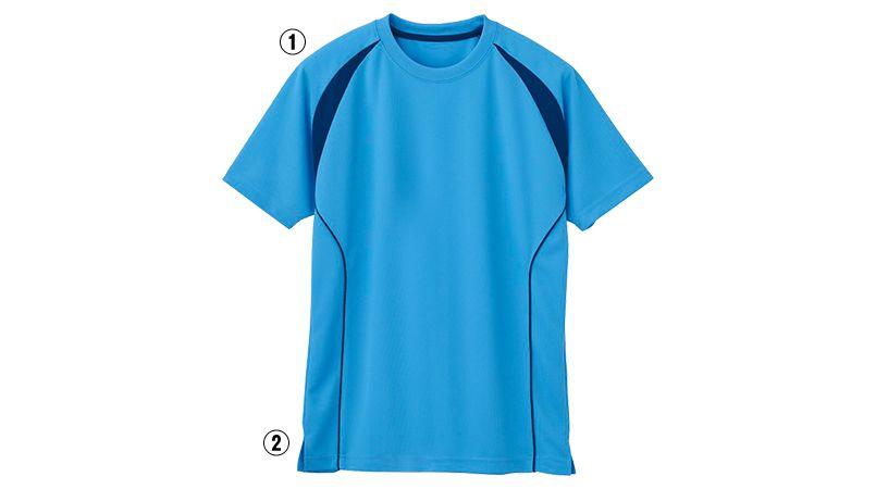 自重堂 WH90158 WHISEL ドライ半袖Tシャツ(男女兼用) ラグラン 商品詳細・こだわりPOINT