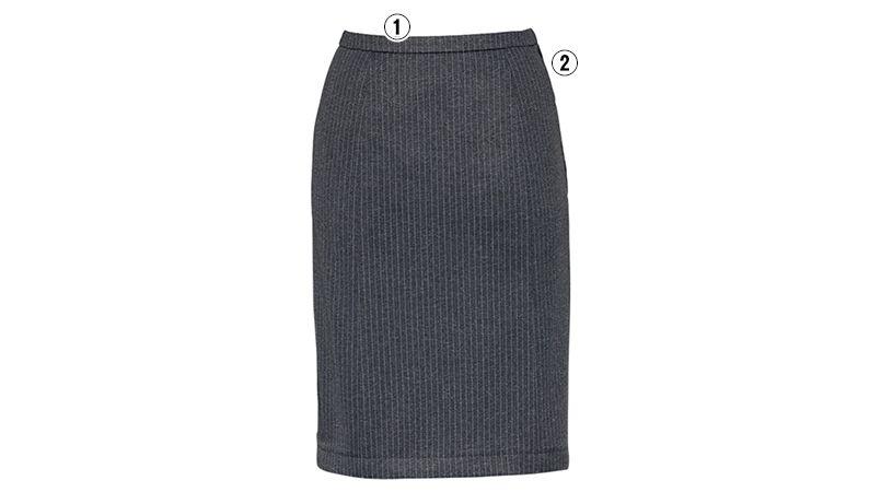 EAS419 enjoy スカート ストライプ 商品詳細・こだわりPOINT