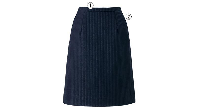 EAS422 enjoy スカート ストライプ 商品詳細・こだわりPOINT