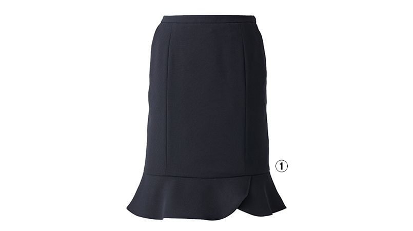 EAS515 enjoy マーメイドスカート 無地 商品詳細・こだわりPOINT