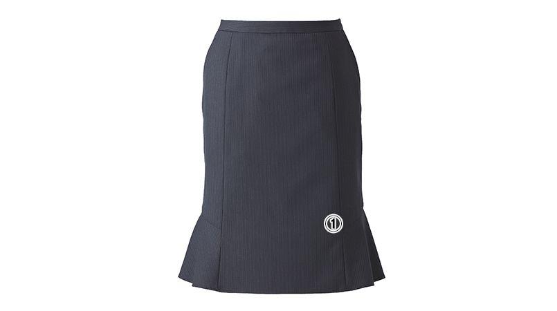 ENJOY EAS521 [通年]マーメイドスカート シャドーストライプ 商品詳細・こだわりPOINT