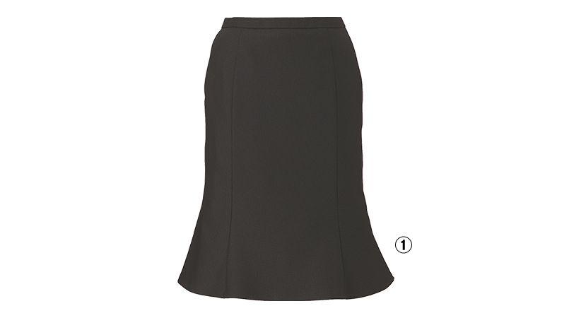 EAS584 enjoy [通年]マーメイドスカート ドット 商品詳細・こだわりPOINT