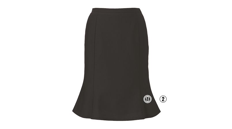 ENJOY EAS589 [通年]マーメイドスカート[無地] 商品詳細・こだわりPOINT
