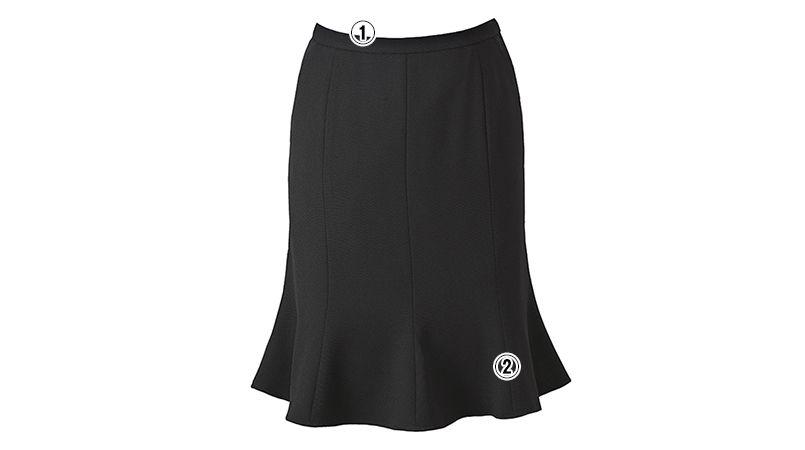ENJOY ESS469 [春夏用]マーメイドスカート 無地 商品詳細・こだわりPOINT