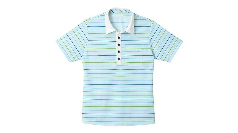 [在庫限り]HM2429 ハートグリーン レインボー ドライポロシャツ 商品詳細・こだわりPOINT