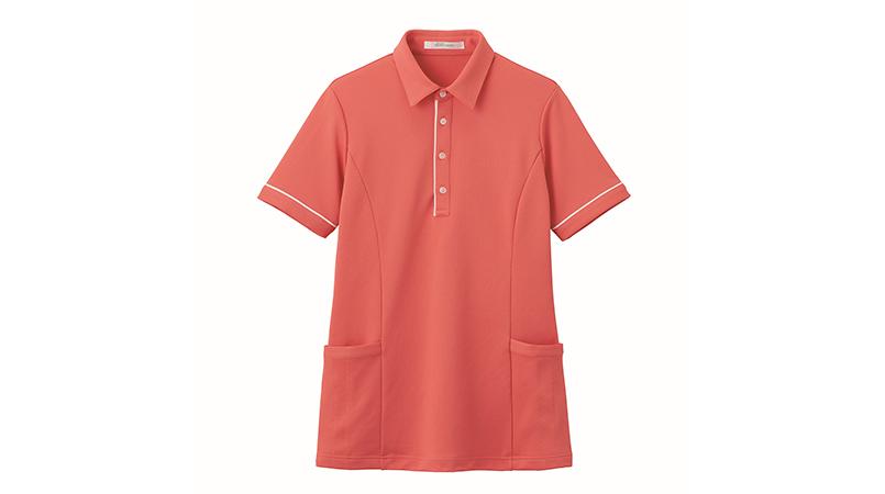 HSP004 ハートグリーン 半袖ロングポロシャツ(男女兼用) 商品詳細・こだわりPOINT