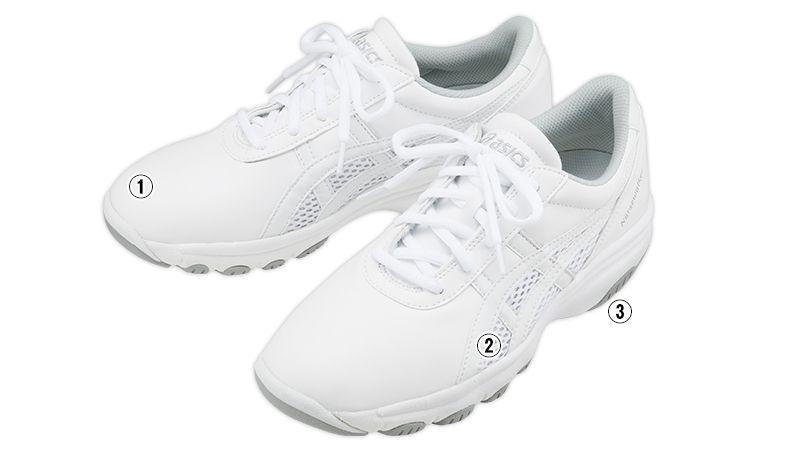 FMN201-0113 アシックス(asics) ナースウォーカー 靴(男女兼用) 商品詳細・こだわりPOINT