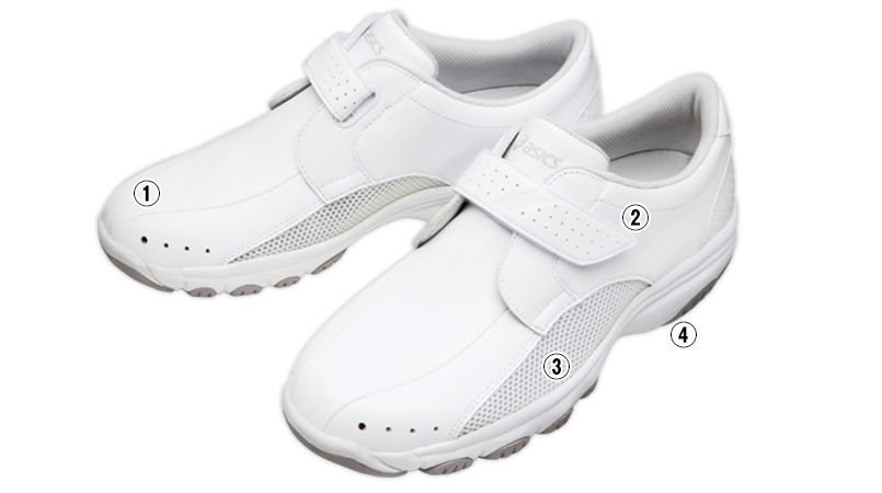 FMN202-01 アシックス(asics) ナースウォーカー 靴(男女兼用) 商品詳細・こだわりPOINT