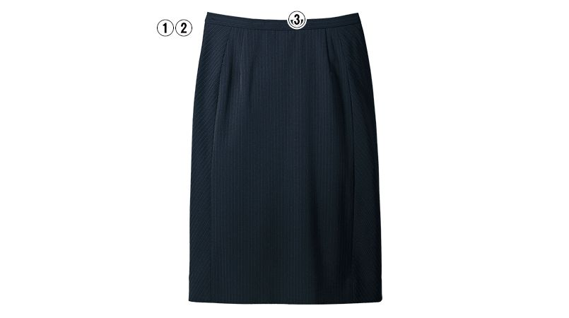 SELERY(セロリー) S-16081 [春夏用]タイトスカート [ストライプ/ストレッチ/高通気] 商品詳細・こだわりPOINT