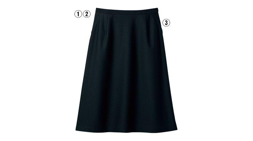 S-16670 16671 SELERY(セロリー) [春夏用]Aラインスカート 商品詳細・こだわりPOINT
