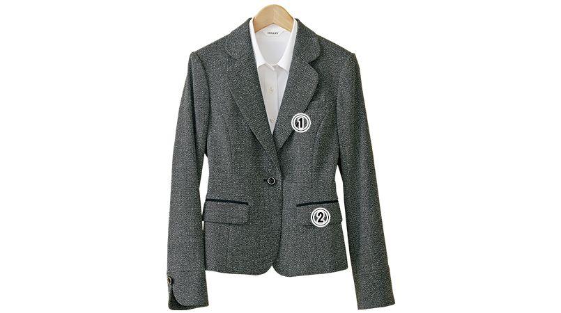 S-24460 SELERY(セロリー) ジャケット ツイード 商品詳細・こだわりPOINT