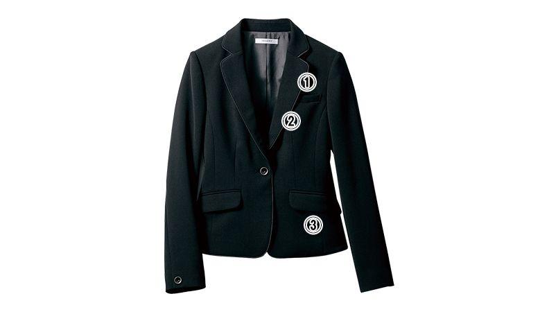 SELERY(セロリー) S-24570 [通年]部屋干ししても臭わない!お手入れカンタンのジャケット [無地] 商品詳細・こだわりPOINT
